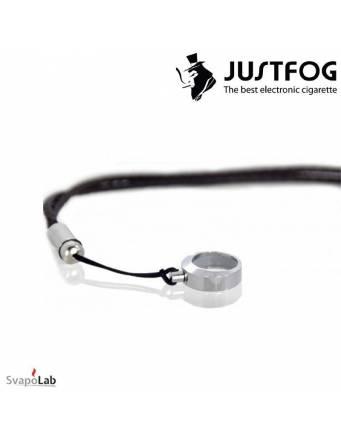 JUSTFOG - Laccetto a tracolla portasigaretta (black)