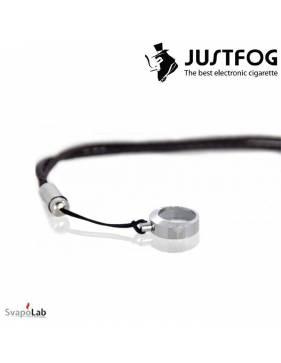 JUSTFOG laccetto portasigaretta a tracolla (black)