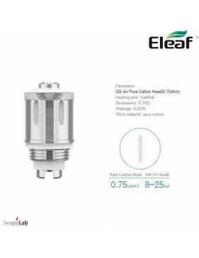 ELEAF GS Air 2 dual coil 0,75 ohm (testina di ricambio)