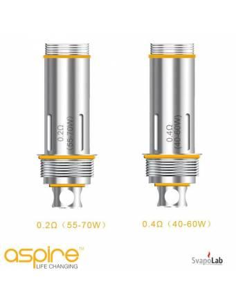 ASPIRE Cleito dual clapton head coil 0,2 ohm (testina di ricambio)