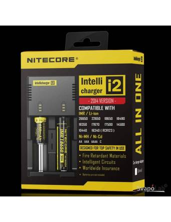 Nitecore Intellicharger I2 Li-ion / NiMH battery charger