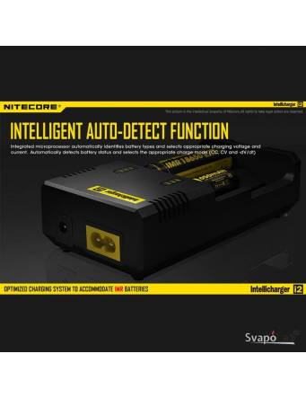 Nitecore Intellicharger I2 Li-ion / NiMH caricabatterie