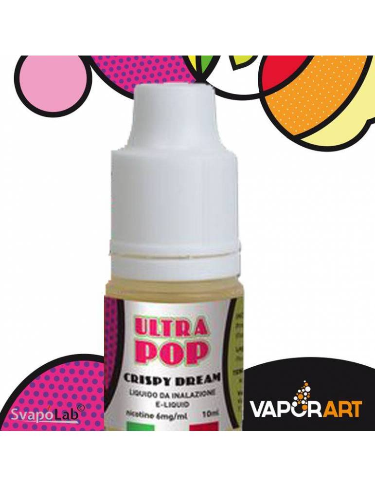 VAPORART ULTRAPOP CRISPY DREAM liquido pronto 10ml