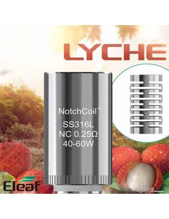 ELEAF LYCHE NotchcoilTM NC 0,25 ohm - testina di ricambio