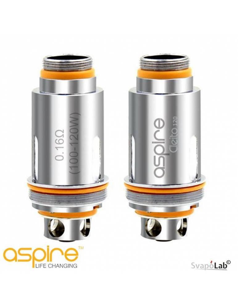 ASPIRE Cleito 120 head coil 0,16 ohm (testina di ricambio)