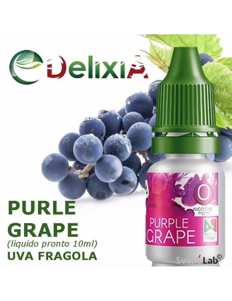 Delixia PURPLE GRAPE liquido pronto 10ml