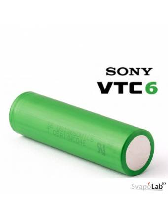 SONY VTC6 18650 - 3000 mah 35A (flat top battery)