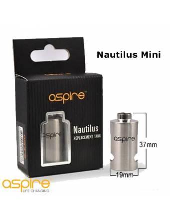 ASPIRE Nautilus Mini tank di ricambio in acciaio e pirex confezione