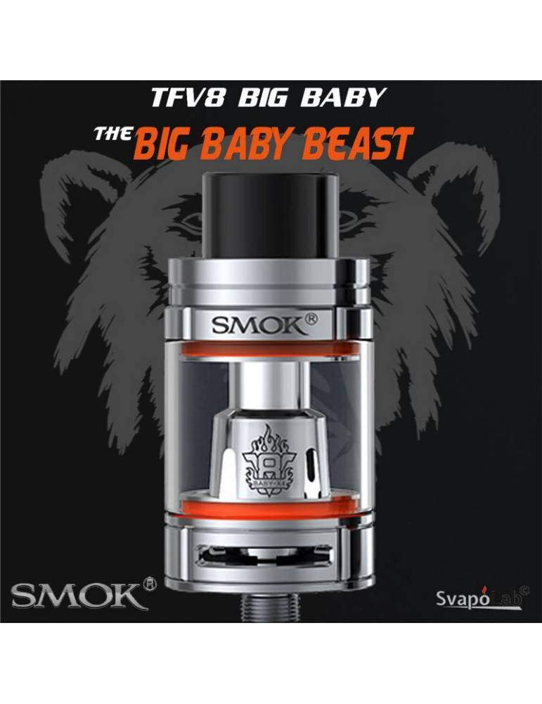 Smok TFV8 Big Baby beast tank 5 ml (ø24,5mm)