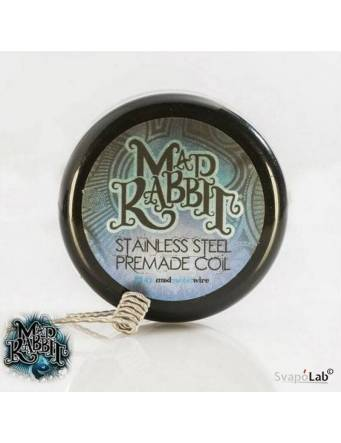 Mad Rabbit SS Clapton premade coil 0,3ohm (pack 10 pz)
