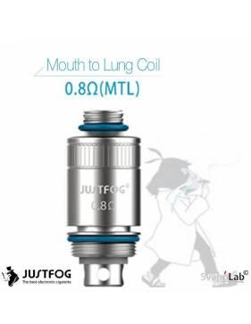 Justfog FOG 1 coil 0,8ohm MTL/15W (1 pz)