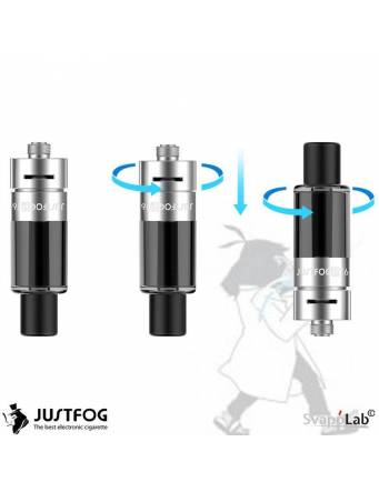 Justfog P16A atomizer 1,9 ml (ø16mm)