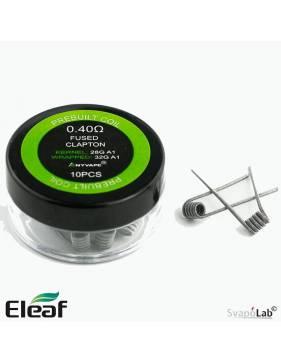 Eleaf Clapton premade coil 0,4ohm (pack 10 pz) per Coral