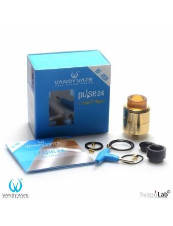 Vandy Vape PULSE 24 BF RDA - la confezione ed il suo contenuto