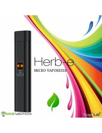 Mig Vapor HERB-E Micro Dry Herb kit 1200 mah (ORIGINAL) Vaporizzatore BLACK