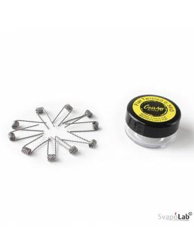 Coilart FLAT TWISTED premade coil 0,36 ohm (conf. 10 pz)