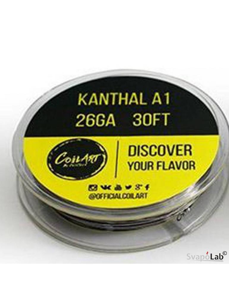 Coilart KANTHAL A1 filo resistivo 26 GA (30FT)