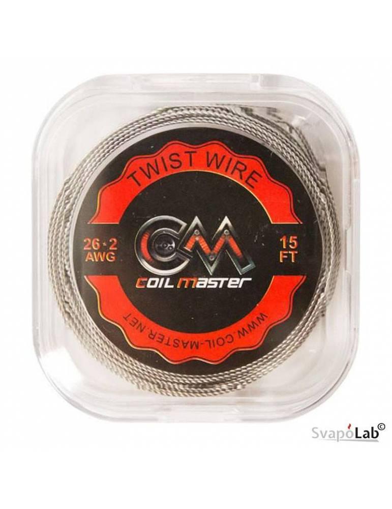 Coil Master TWIST filo resistivo 26x2 GA (15FT)
