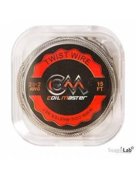 Coil Master TWIST filo resistivo 28x2 GA (5mt)