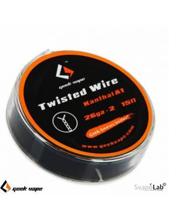Geekvape KANTHAL A1 Twisted filo resistivo 26 * 2 (15FT)