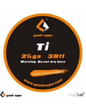 Geekvape TI filo resistivo 26 GA (10mt)