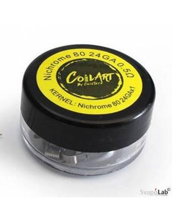Coilart NICHROME 80 premade coil 0,5 ohm – 24 GA (conf. 10 pz)