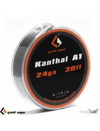 Geekvape KANTHAL A1 filo resistivo 24 GA (30FT)