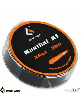 Geekvape KANTHAL A1 filo resistivo 26 GA (30FT)
