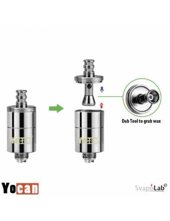 Yocan Miracle ceramic coil 0,6 ohm (1 pz) per Magneto kit