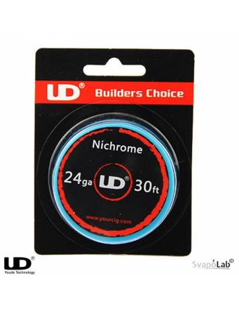 UD Youde NICHROME filo resistivo 24 GA (30FT)