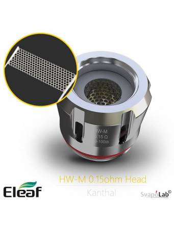 Eleaf HW-M Kanthal coil - dettaglio mesh
