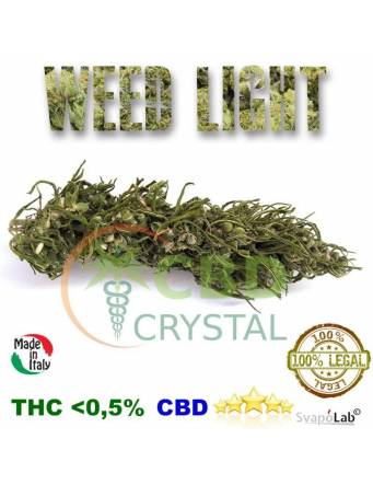 Crystal CBD – Cannabis Weed Light 10 gr (THC -0,5) by Fumidea