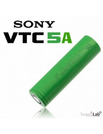 Sony VTC5A 18650 – 2600 mah 35A (flat top battery)