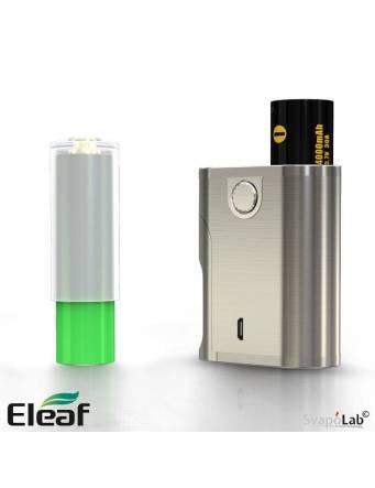 Eleaf Pico Squeeze 2 - Una batteria 21700 o 18650 tramite l'adattatore