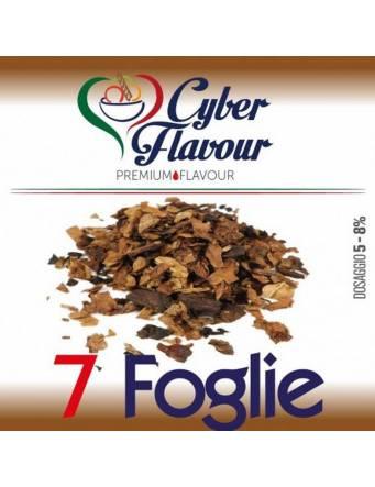 Cyber Flavour 7 FOGLIE 10 ml aroma concentrato
