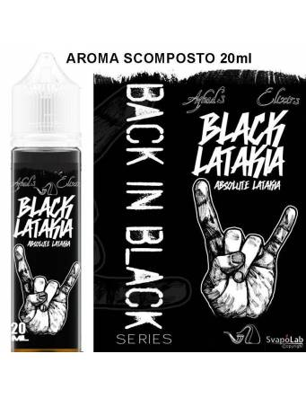 Azhad's Back in Black BLACK LATAKIA 20 ml aroma scomposto by Azhad's Elixirs