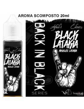 Azhad's Back in Black BLACK LATAKIA 20 ml aroma scomposto by Azhad's Elixirs