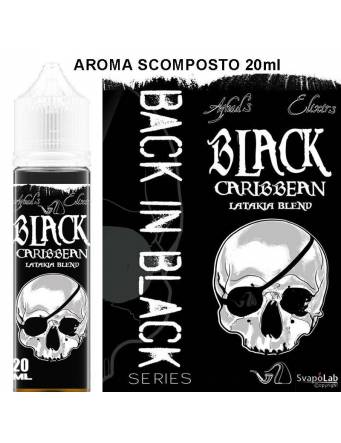Azhad's Back in Black BLACK CARIBBEAN 20 ml aroma scomposto by Azhad's Elixirs