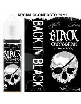 Azhad's Back in Black BLACK CARIBBEAN 20 ml aroma scomposto