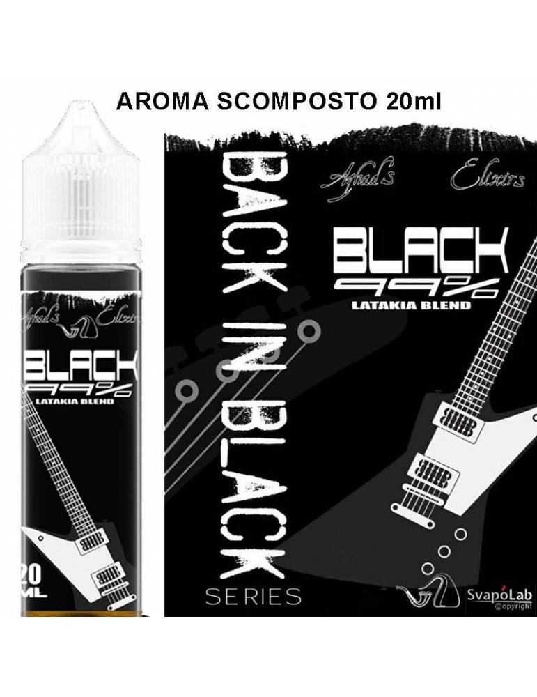 Azhad's Back in Black BLACK 99% 20 ml aroma scomposto