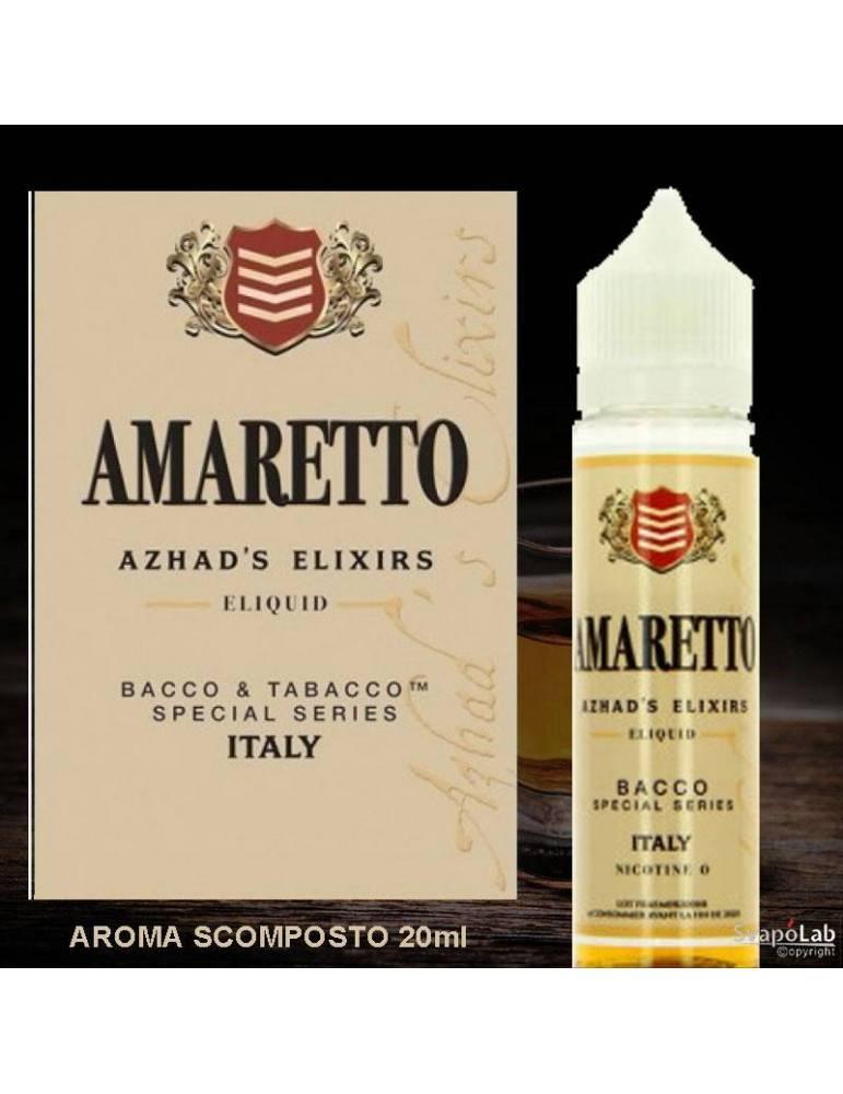 Azhad's Bacco&Tabacco AMARETTO 20 ml aroma scomposto by Azhad's Elixirs