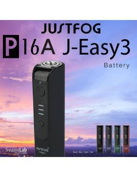 Justfog J-EASY 3 battery 900 mah (BLACK) per P16A kit