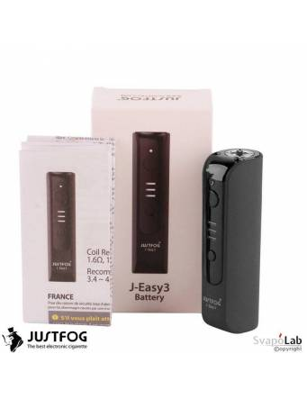 Justfog J-EASY 3 battery 900 mah (BLACK) scatola