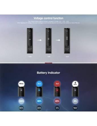 Justfog J-EASY 3 battery 900 mah impostazioni