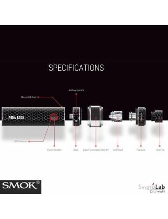 Smok RESA STICK kit 2000 mah – 7,5 ml composizione