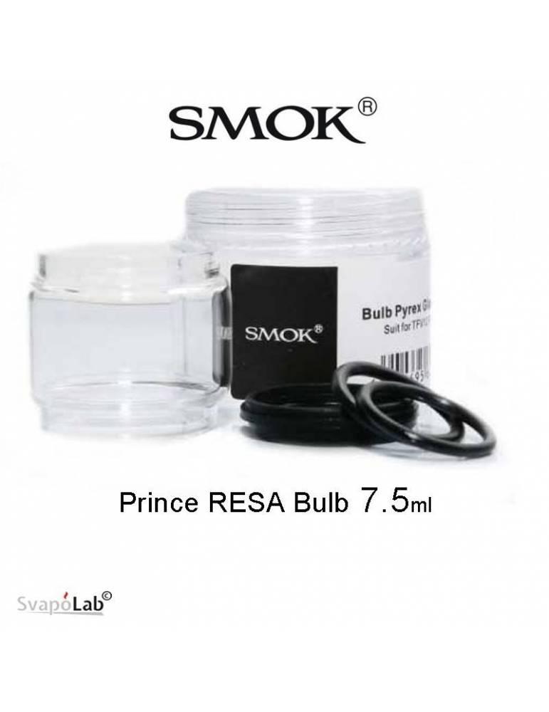 Smok BULB pirex glass tube 7,5ml e Oring (1 pz) per Resa Prince Tank