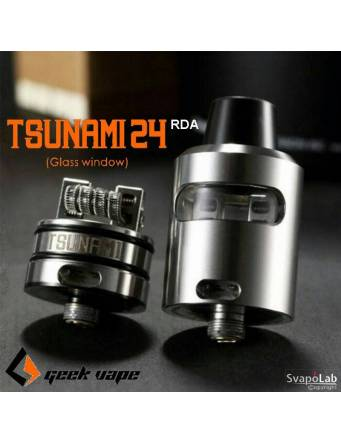 Geekvape TSUNAMI 24 RDA Glass Window