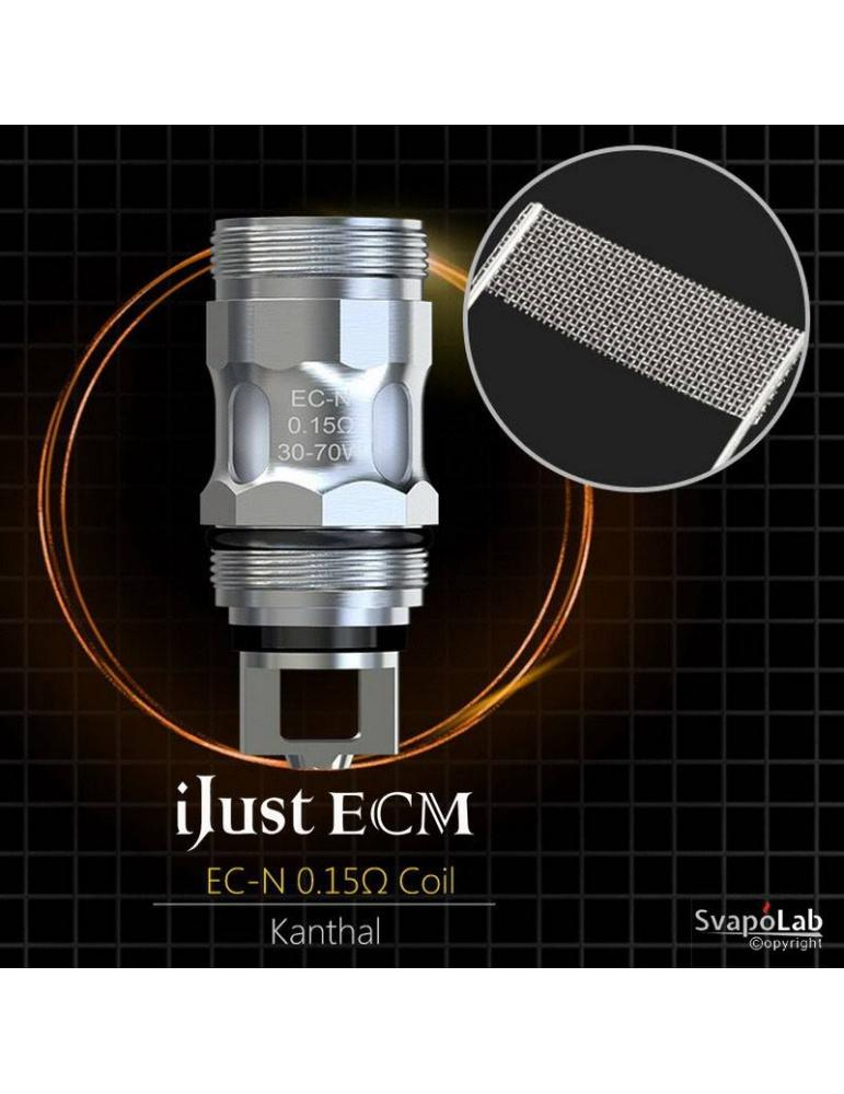 Eleaf EC-N mesh coil 0,15 ohm (30-70W) per Ijust ECM