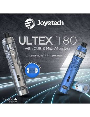 JOYETECH ULTEX T80 kit con CUBIS Max (ø28mm), poster