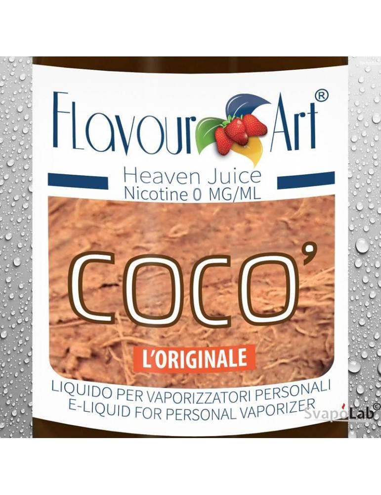 Flavourart Coco' 10ml liquido pronto